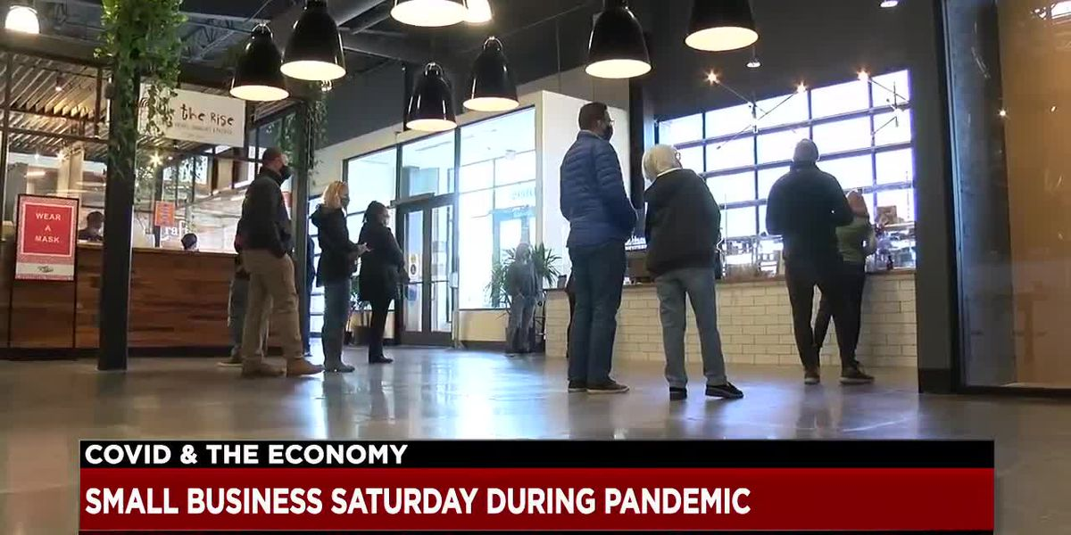 Shoppers flocked to Van Aken Market Hall for Small Business Saturday