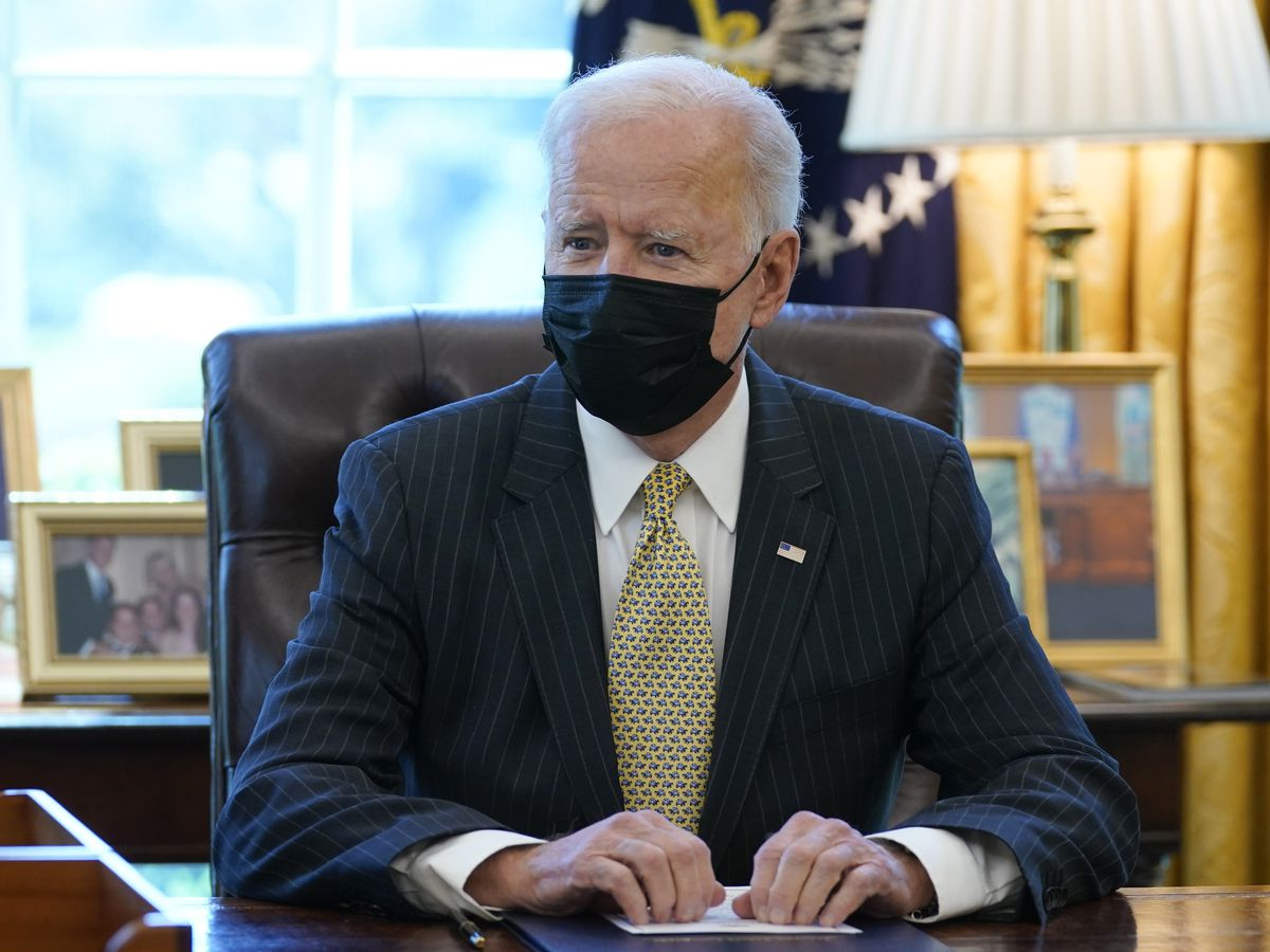 Biden pushes his big infrastructure plan in GOP stronghold