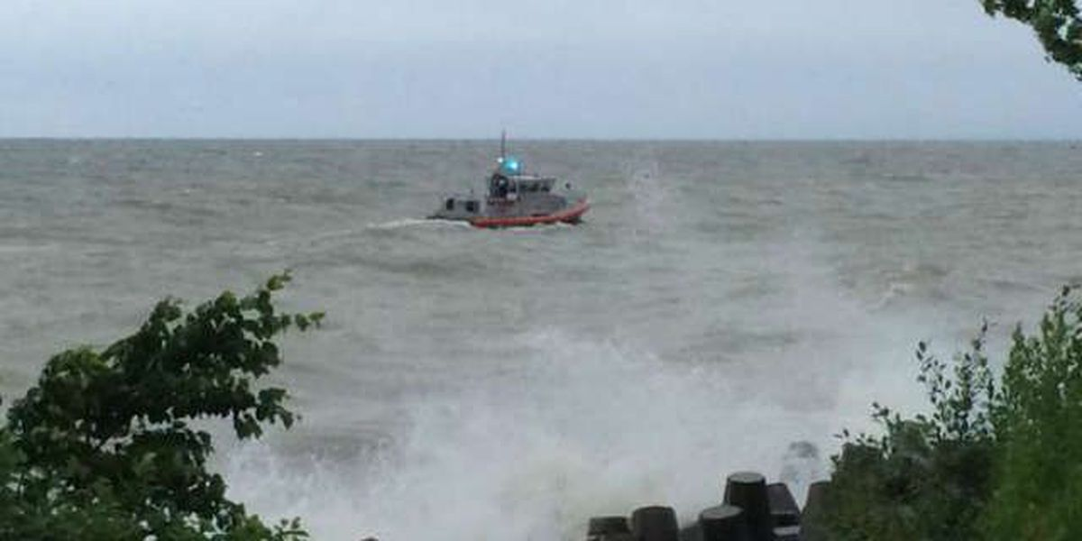 Coast Guard suspends search for man in Lake Erie