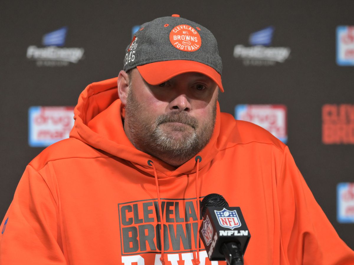 Cleveland Browns HC Freddie Kitchens after tough loss: 'If you are looking to blame somebody, blame me'