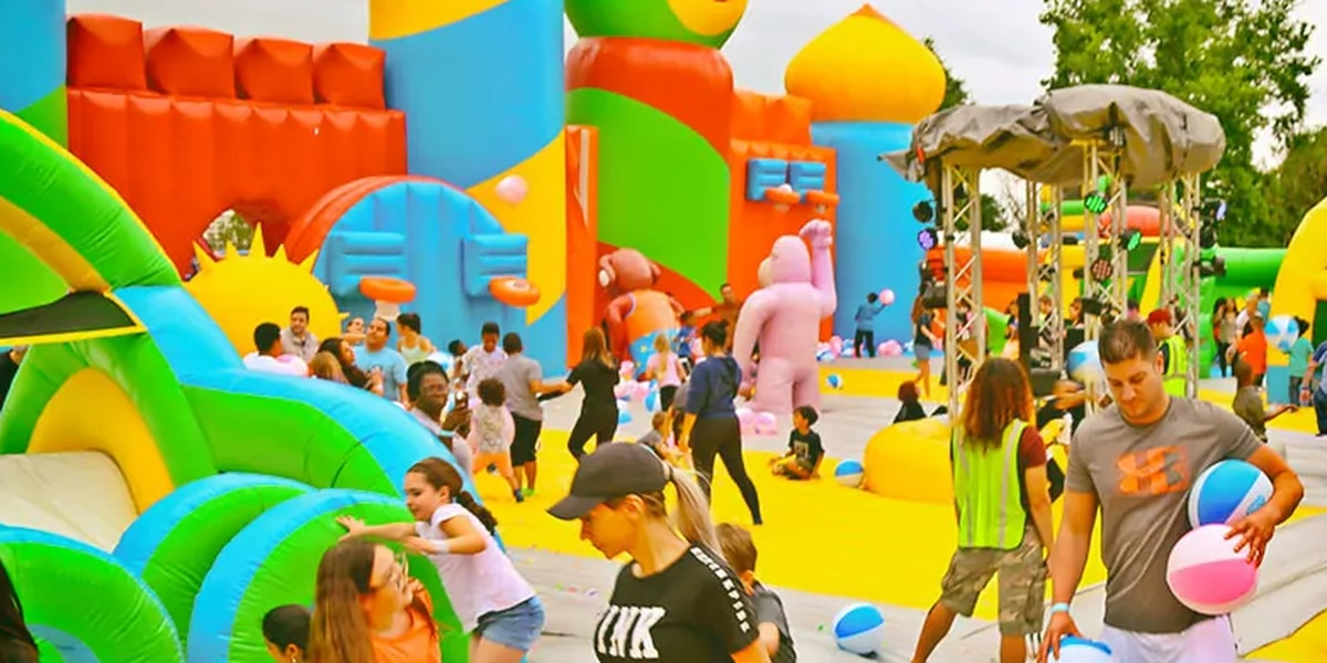 'World's Biggest Bounce House' is coming to Northeast Ohio this summer