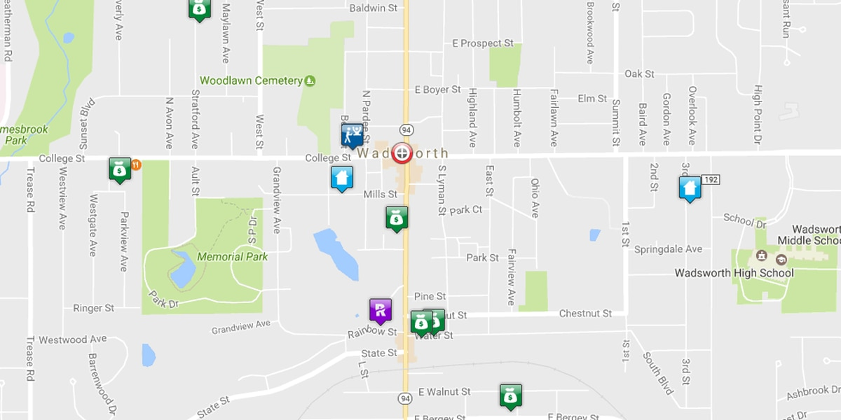 Wadsworth adds crime map to city's website