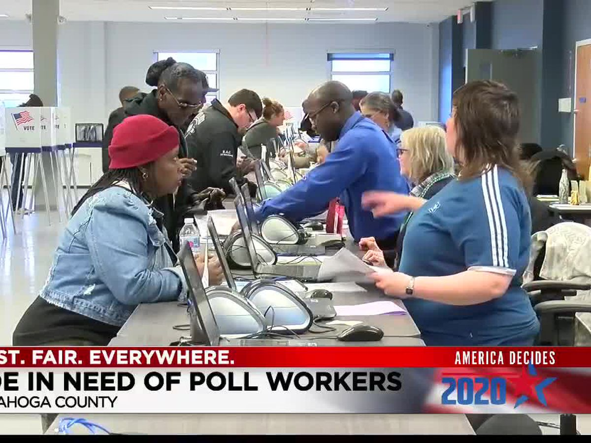 Cuyahoga County Board of Elections clears up poll worker confusion
