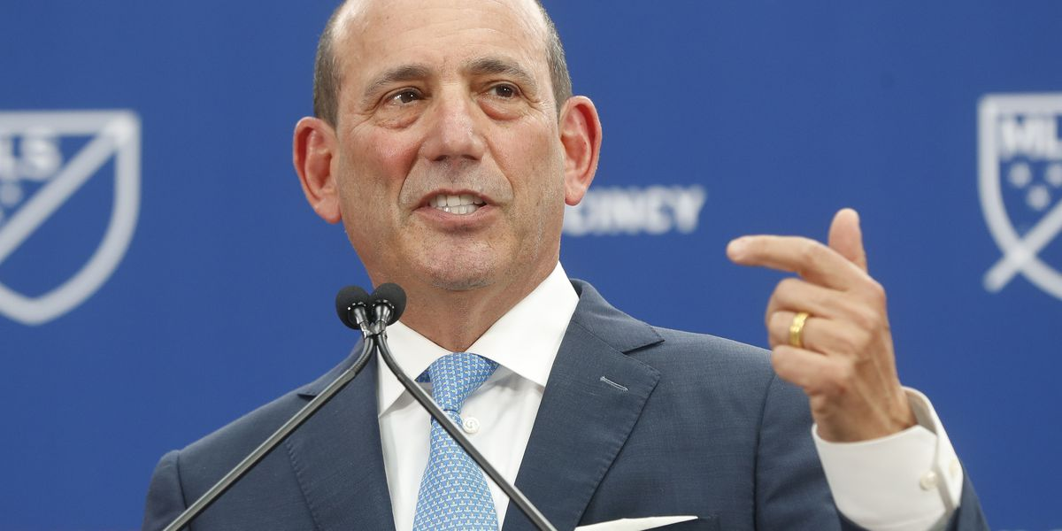 MLS commissioner wants to become more of 'selling league'