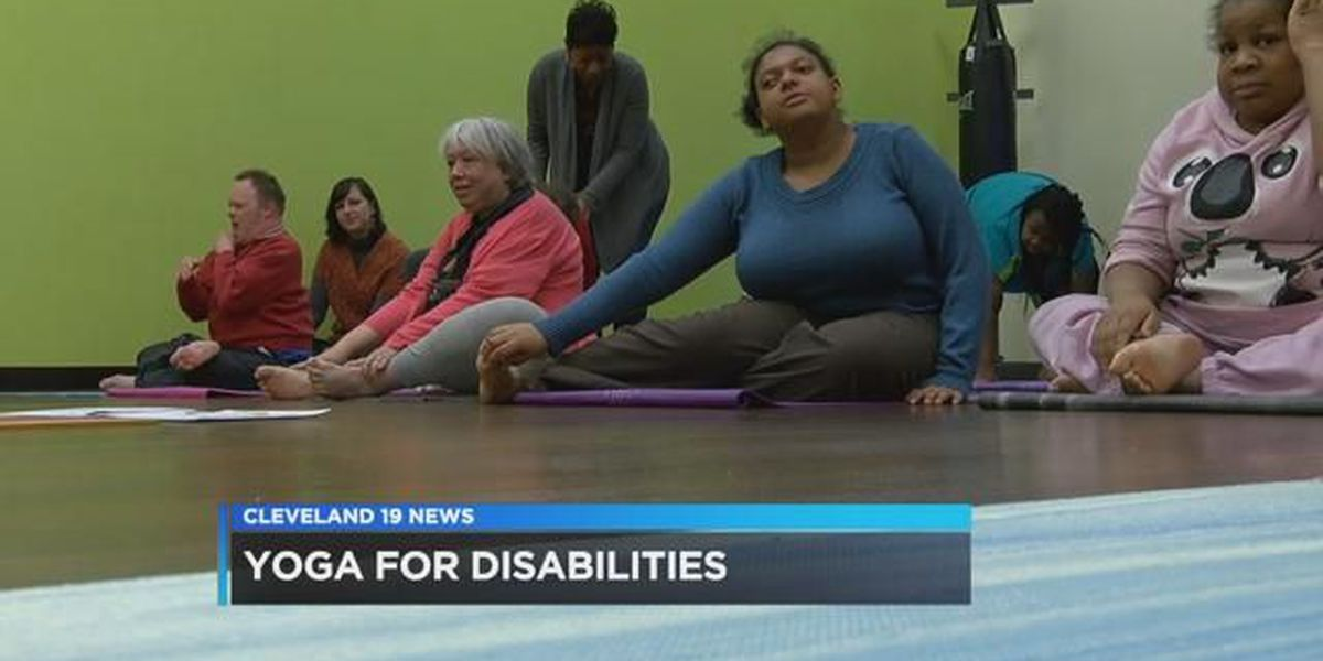 Yoga class offered for disabled adults