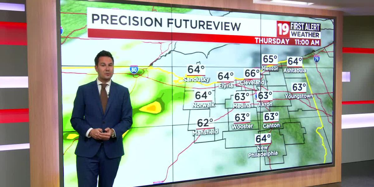 Northeast Ohio Weather: Warmer pattern continues through Thursday