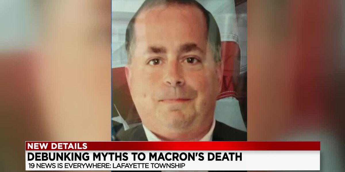New website shares information on mystery of Bryon Macron's death