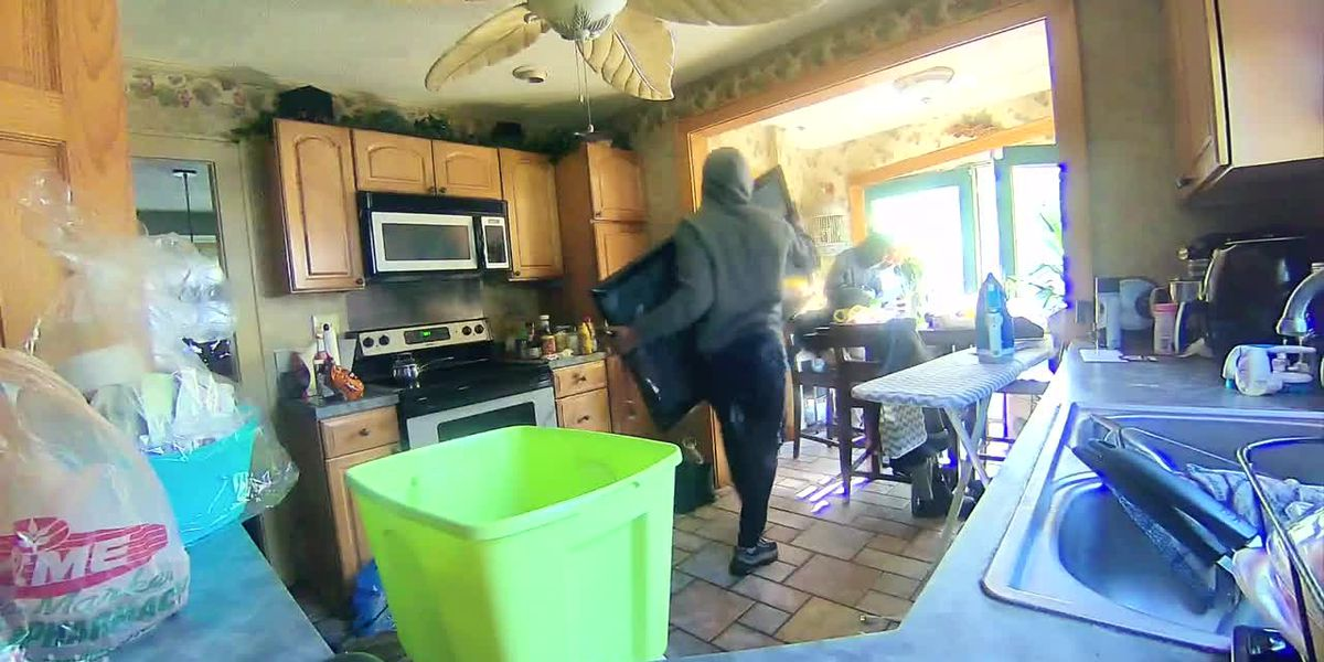 Second video of brazen armed home invasion in Akron