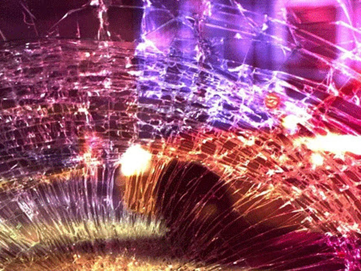 Elderly woman ejected from car, dies in multi-vehicle crash in Wayne County