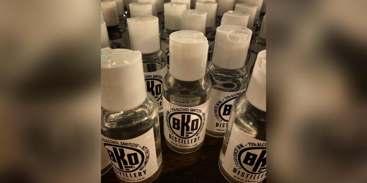 Medina vodka distillery giving away homemade disinfectant during coronavirus pandemic