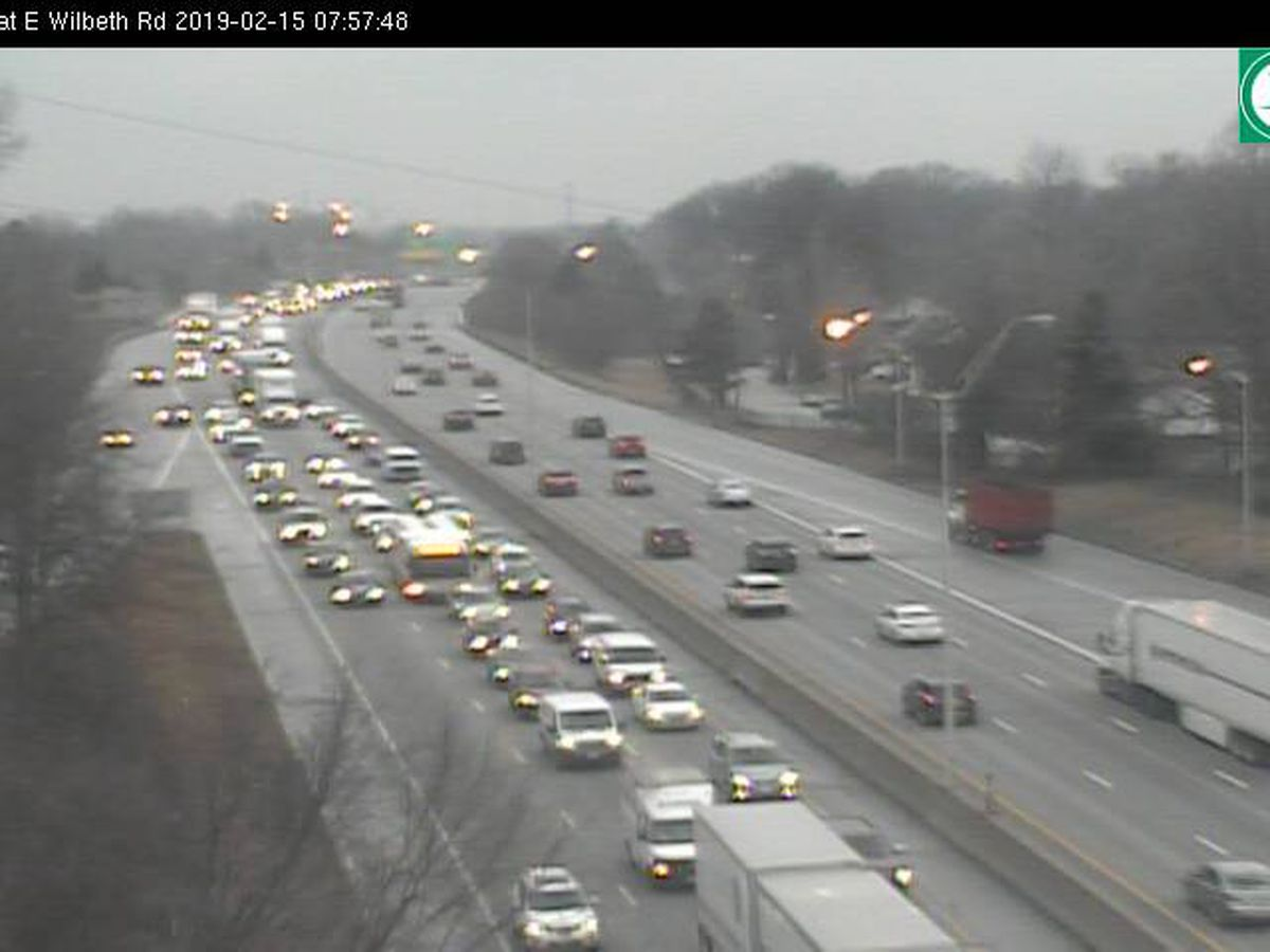 Live traffic updates: Accident on I-77 in Akron causing delays