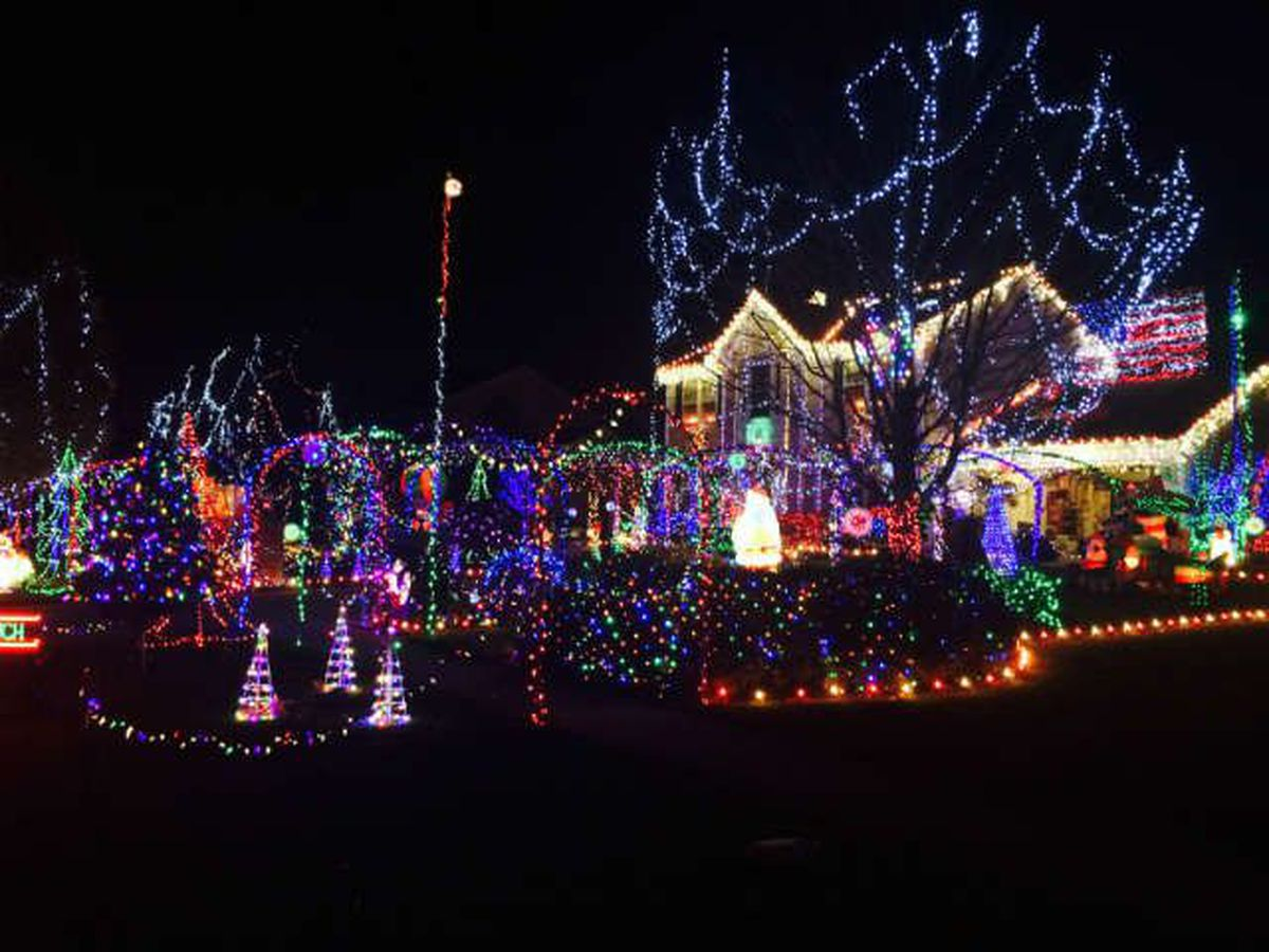 City cites homeowner of 50,000 light Christmas display