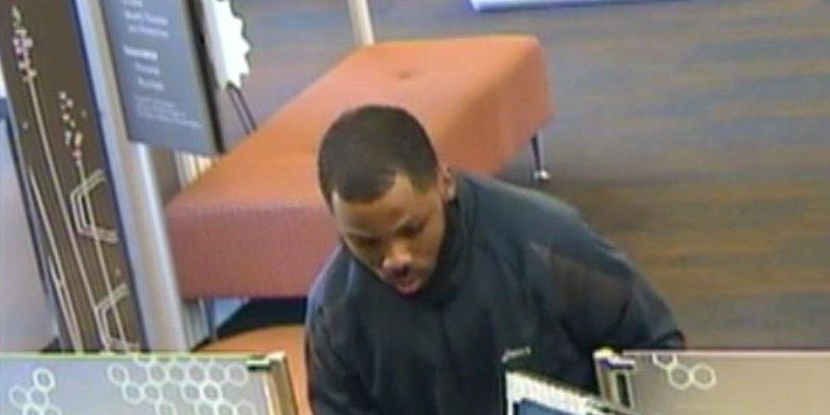 Man robs Mayfield Heights bank in less than 2 minutes (surveillance pics)