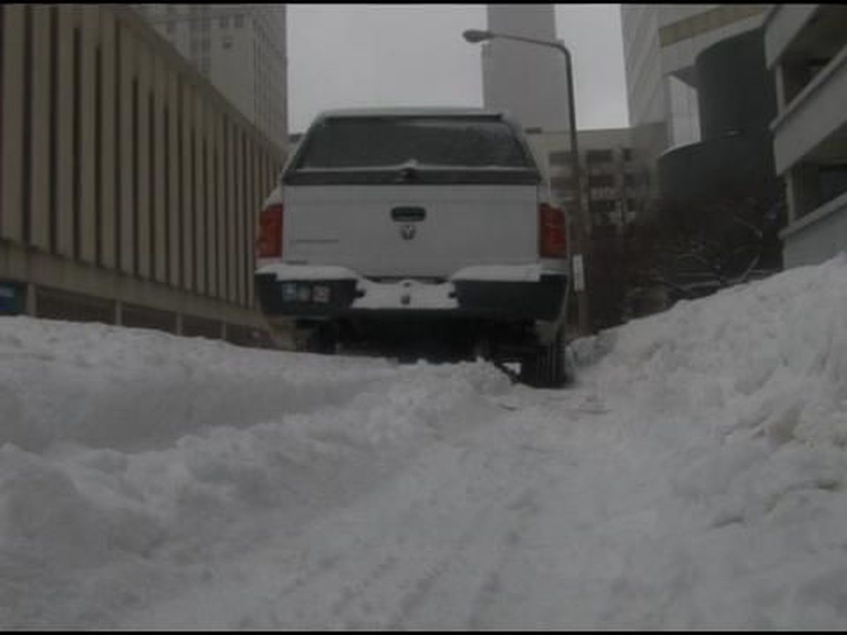 Cleveland has already ticketed more than 160 cars and towed 64 left on the street during snow storm