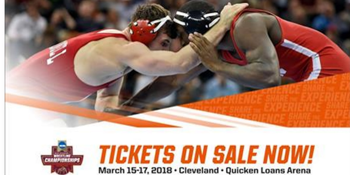 2018 NCAA Wrestling Championships in Cleveland, tickets on sale now