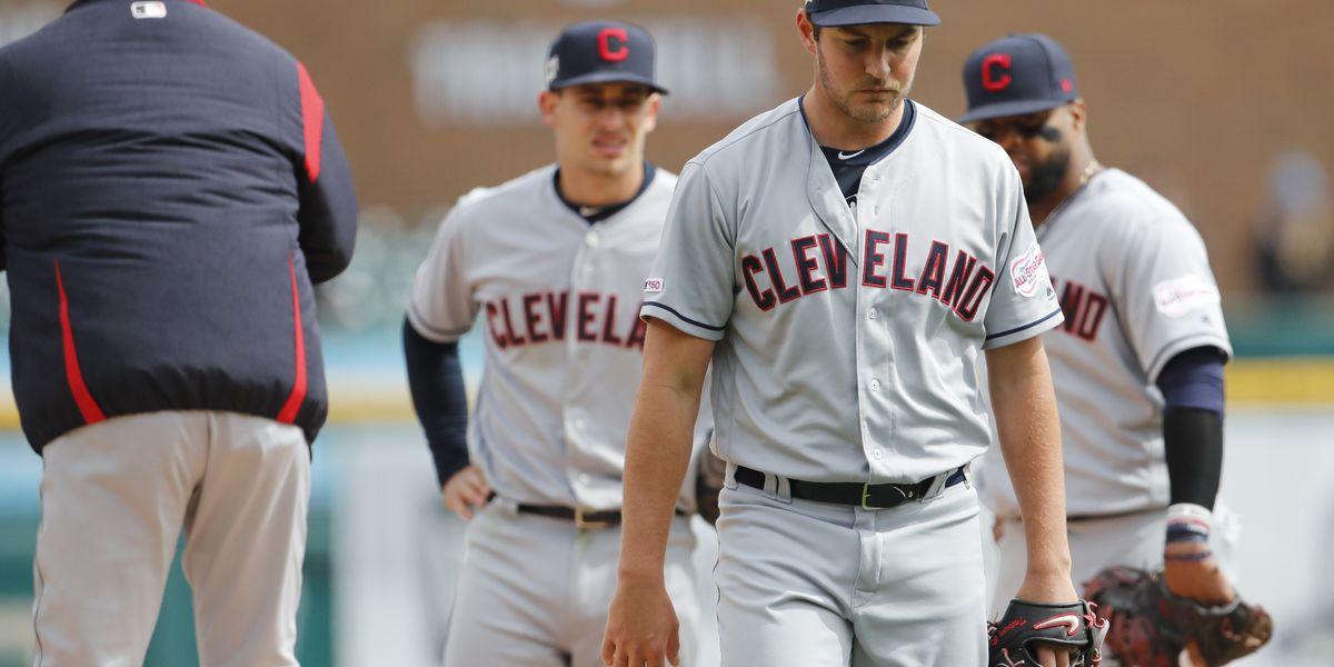 Goodrum. Hicks homer off Bauer, Tigers top Indians 4-1