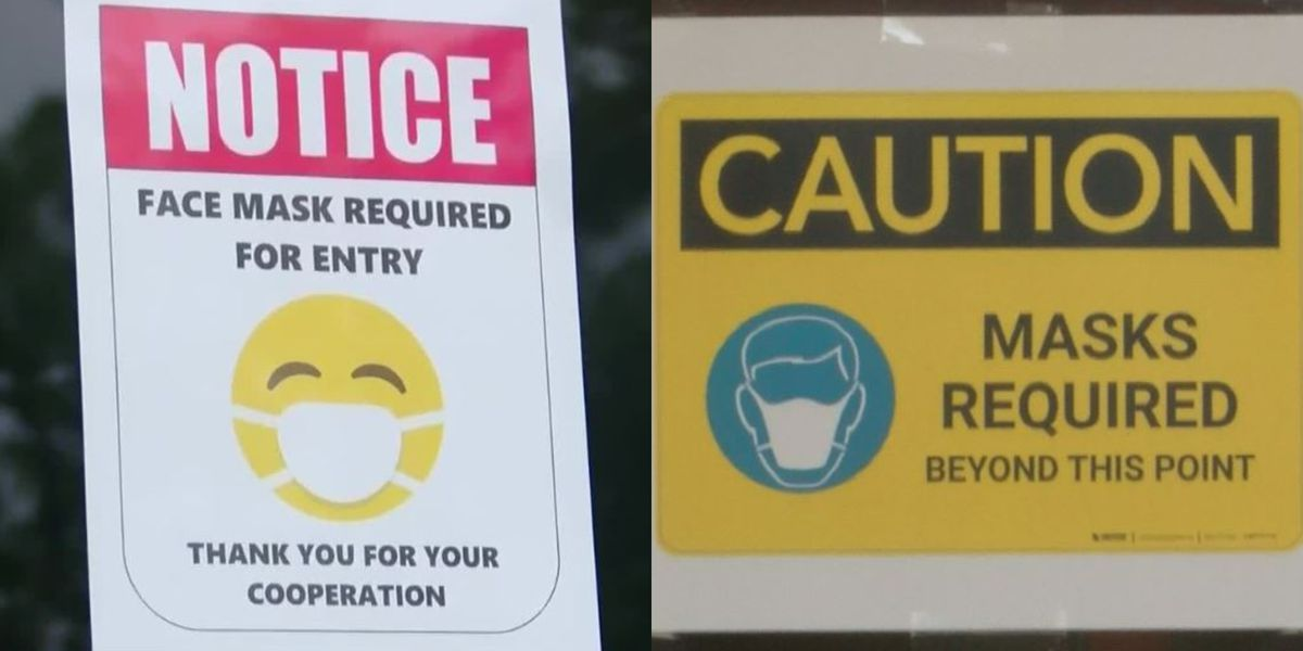 North Canton Police: 'No shoes, no shirt, no service' rule applies to masks too if a business tells you to wear one