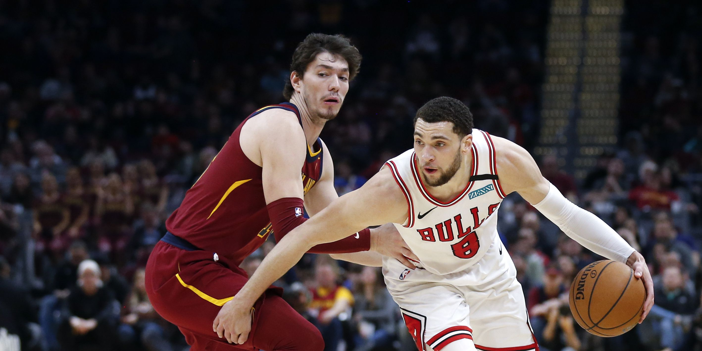 Zach LaVine scores 44 as Bulls beat Cavaliers 118-106