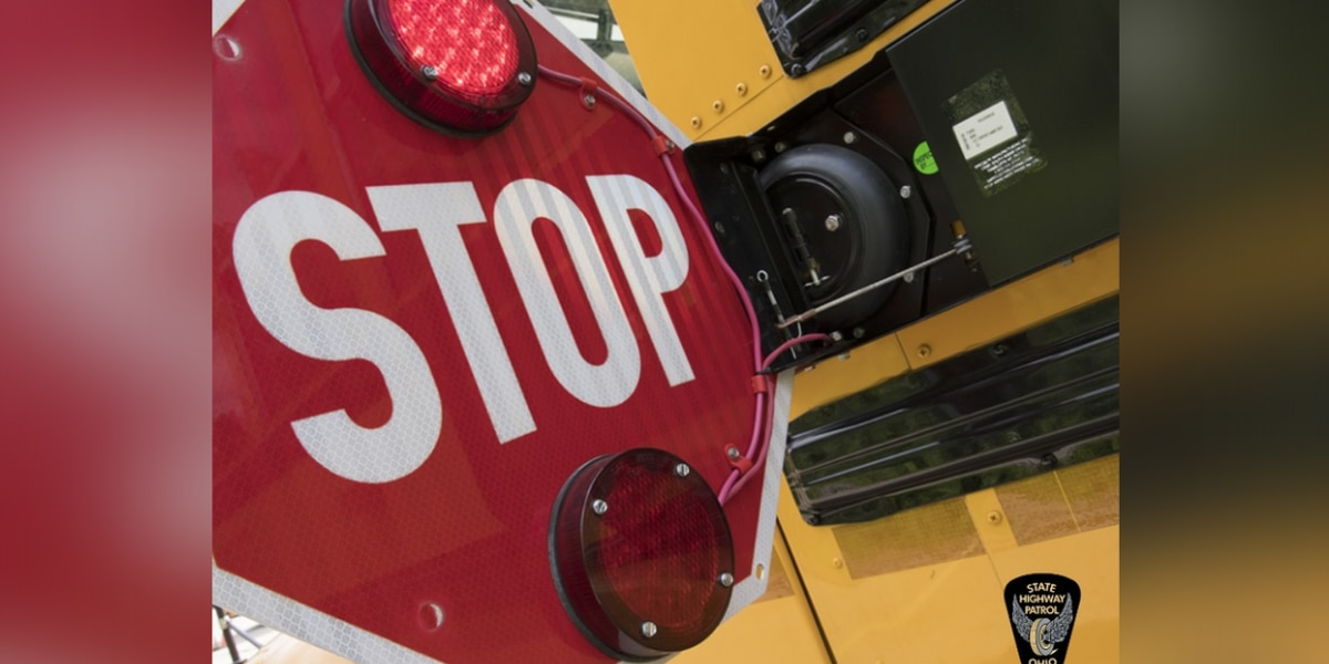 Ohio State Highway Patrol issues reminder ahead of National School Bus Safety Week