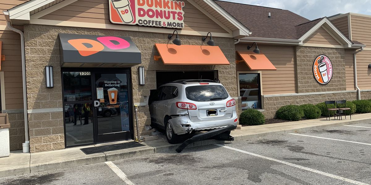 70-year-old man who struck pedestrian and crashed into Dunkin Donuts was under the influence, police say