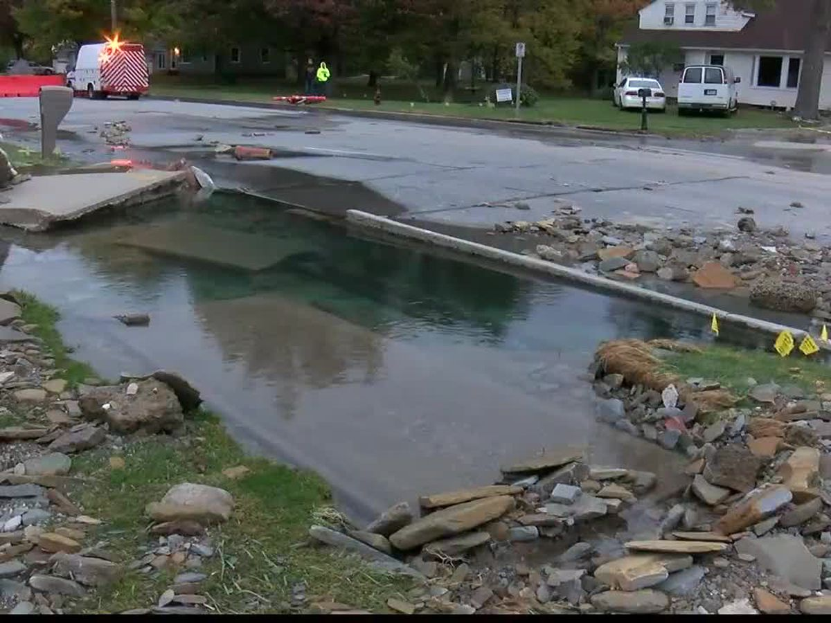 Neighbors are left frustrated after a water main break in Richmond Heights