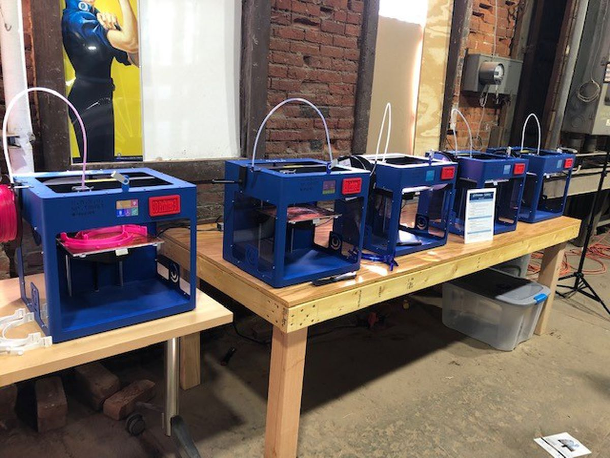 One local Cleveland non-profit using its 3-D printers to produce face shields in the fight against the corona virus