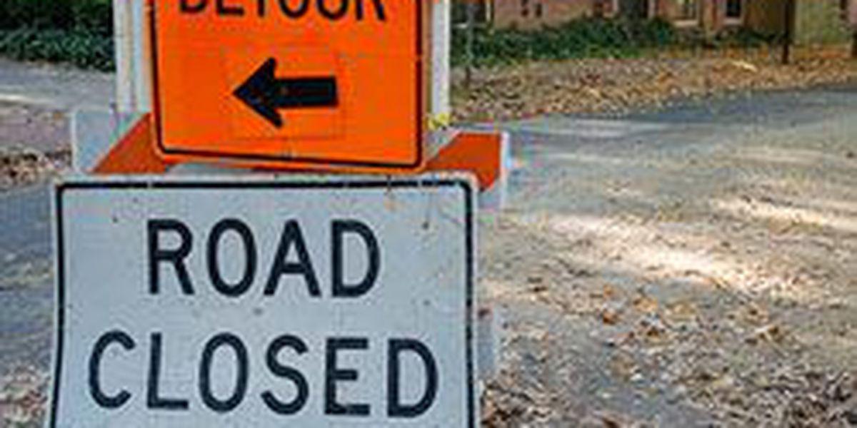 Road closed in Westlake