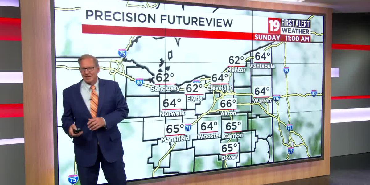 Northeast Ohio weather: Summer-like heat moves in this week