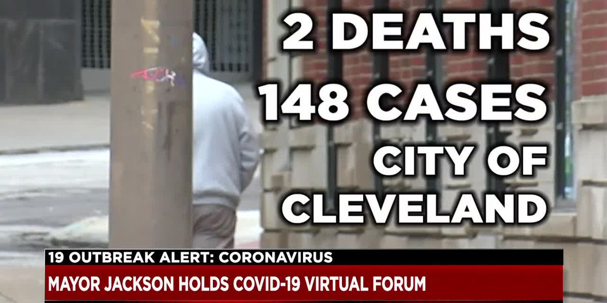 Cleveland Mayor Frank Jackson holds virtual forum to discuss city's COVID-19 response