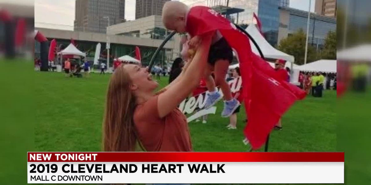 1-year-old girl named 'Queen of Hearts' during 26th Cleveland Heart Walk