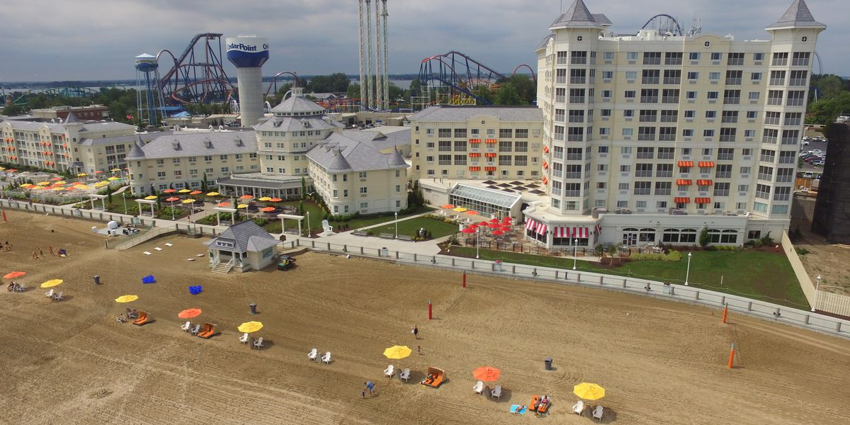 Hotel Breakers, Cedar Point Beach to welcome back guests beginning June 12