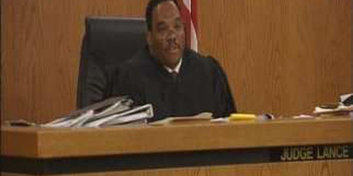 Judge Lance Mason posts bond