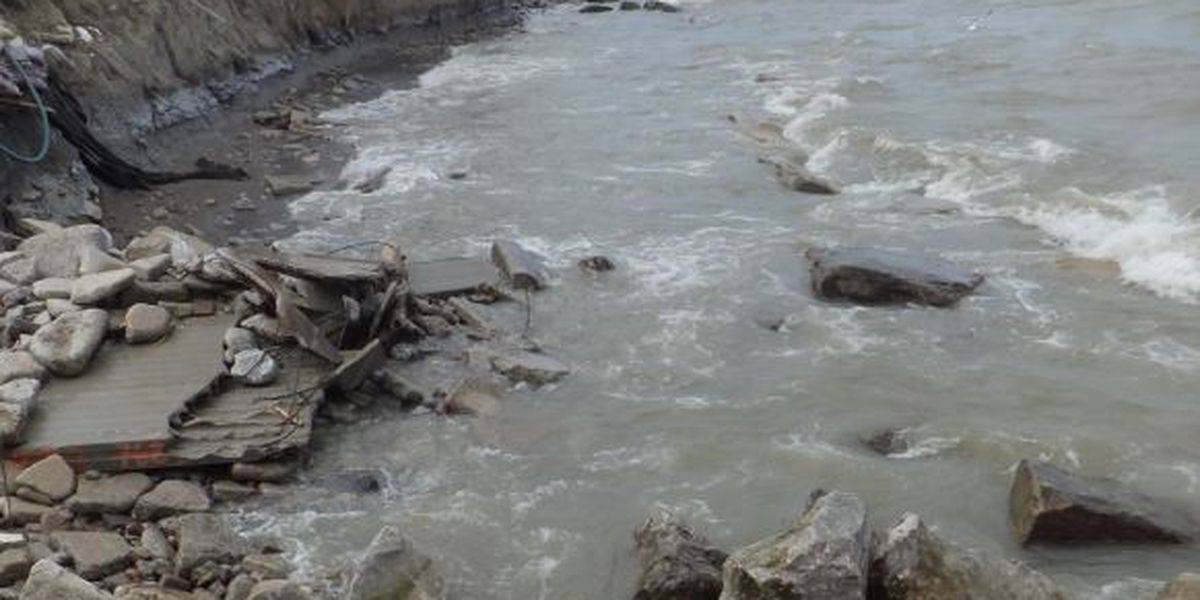 Lake Erie just set a new water level record; 'catastrophic erosion' imminent