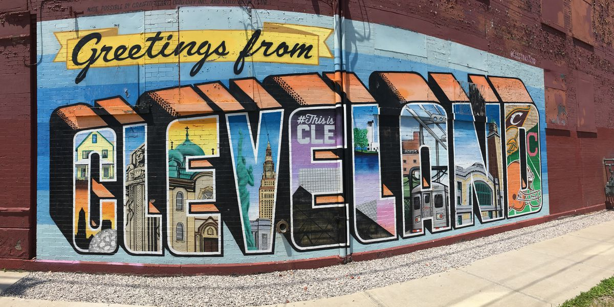 Cleveland's murals are a must-see attraction during MLB All-Star Game week