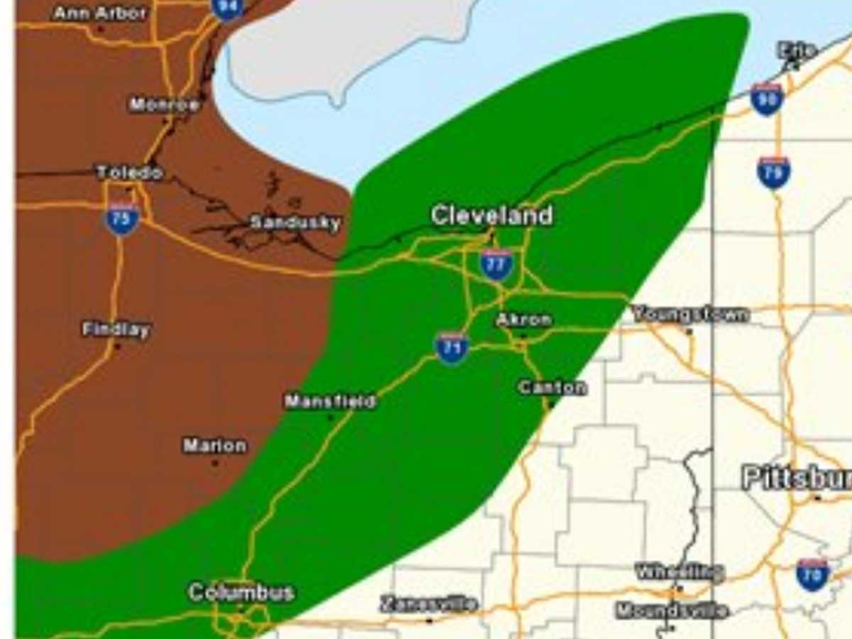 Isolated tornadoes possible with Tuesday's severe storms