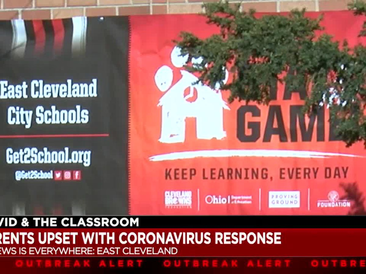 Parents express concern over East Cleveland City School's COVID-19 protocols