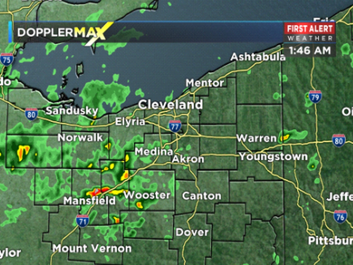 First Alert Weather: Scattered storms continue in area