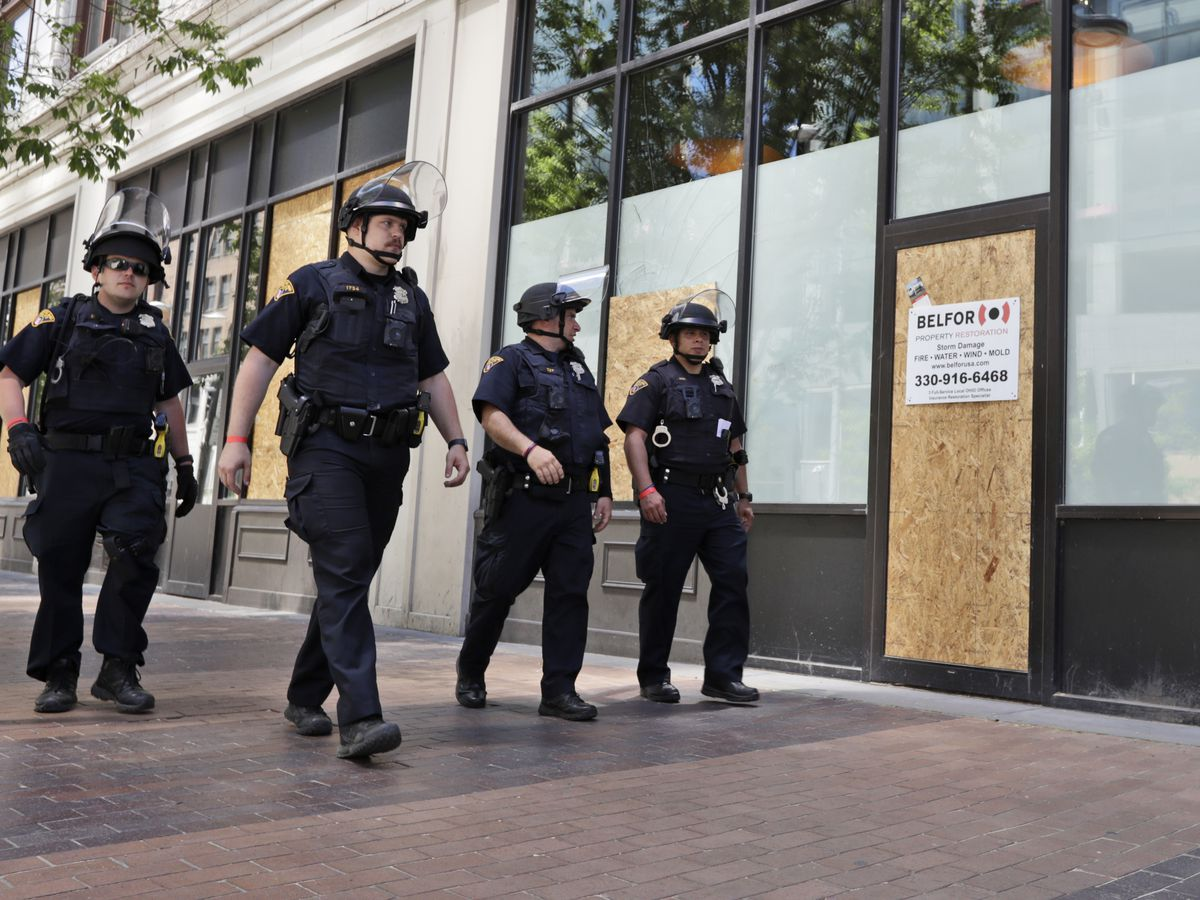 Cleveland's curfew lifted on Friday morning following destructive protests