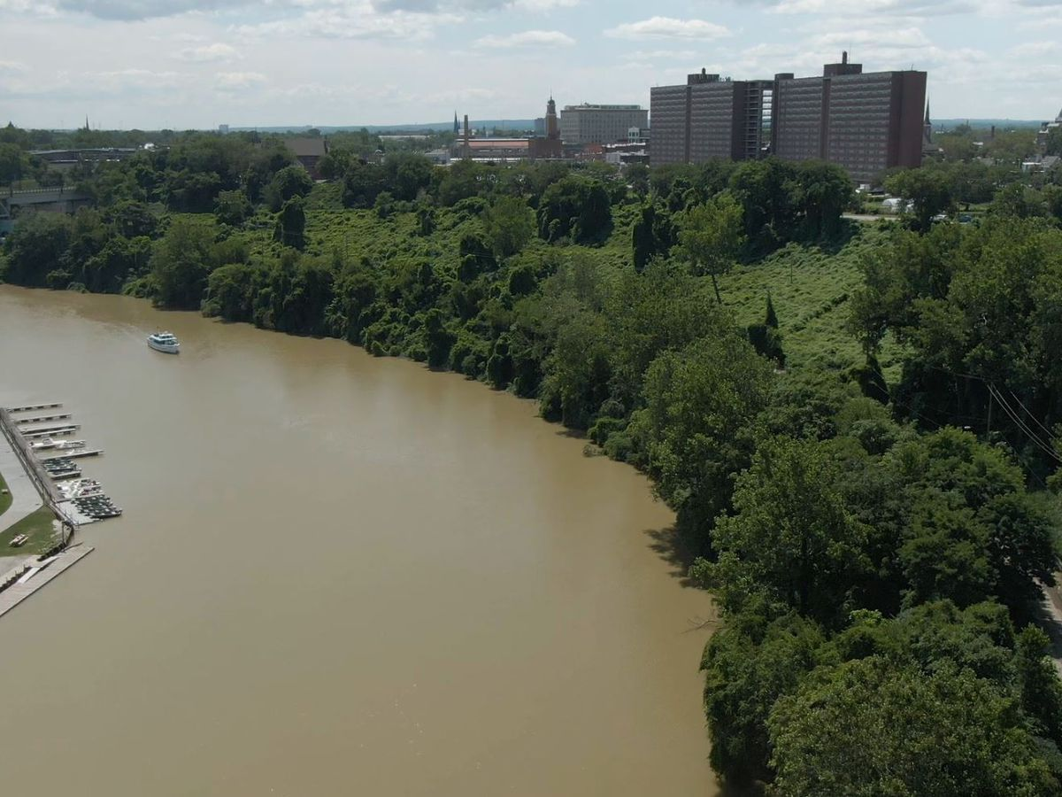 Ohio City Irishtown Bend project gets $9M grant to move forward (drone video)