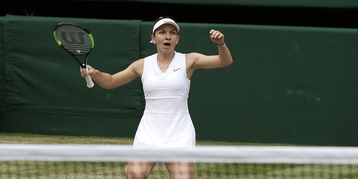 Halep wins Wimbledon, stops Williams' bid for 24th Slam