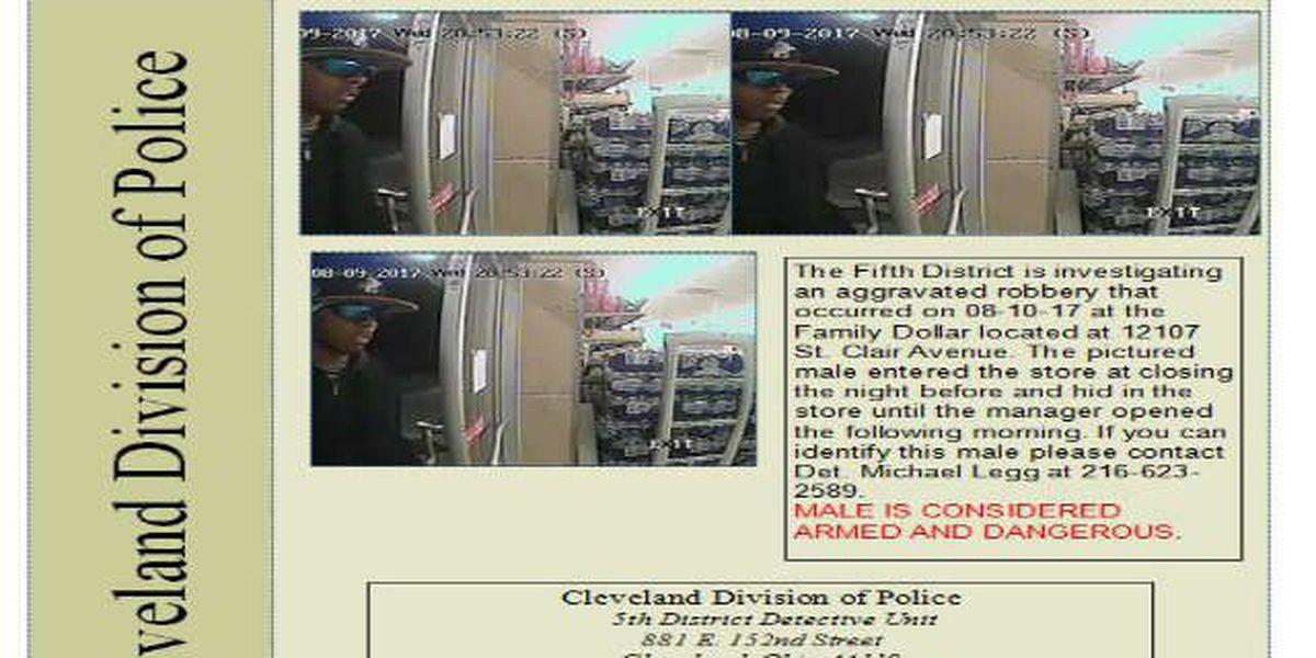 CPD: Man slept in Family Dollar overnight, robbed it the next morning