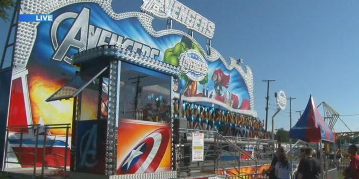 Some rides reopen at Ohio State Fair