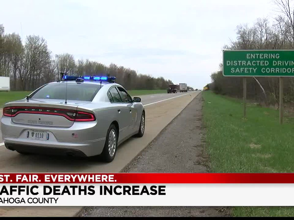 Cuyahoga County traffic deaths on the rise when compared to this time last year