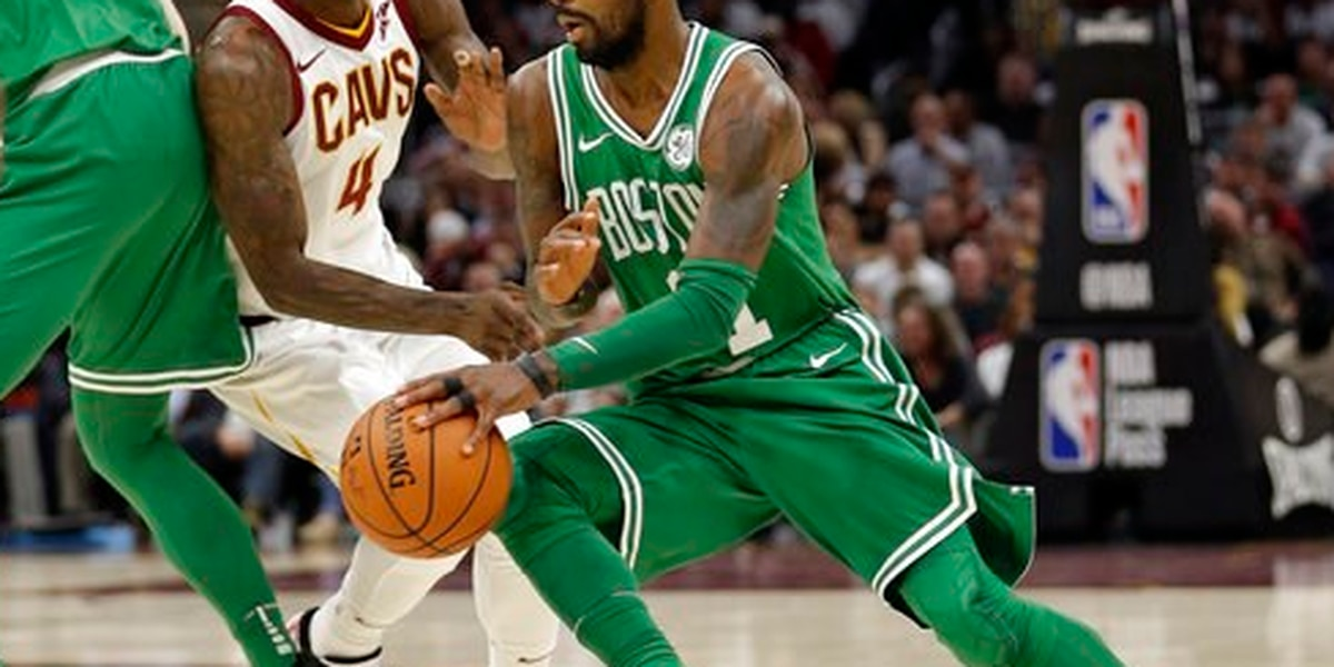 Kyrie Irving fined $25,000 for using inappropriate language toward a fan in Philadelphia