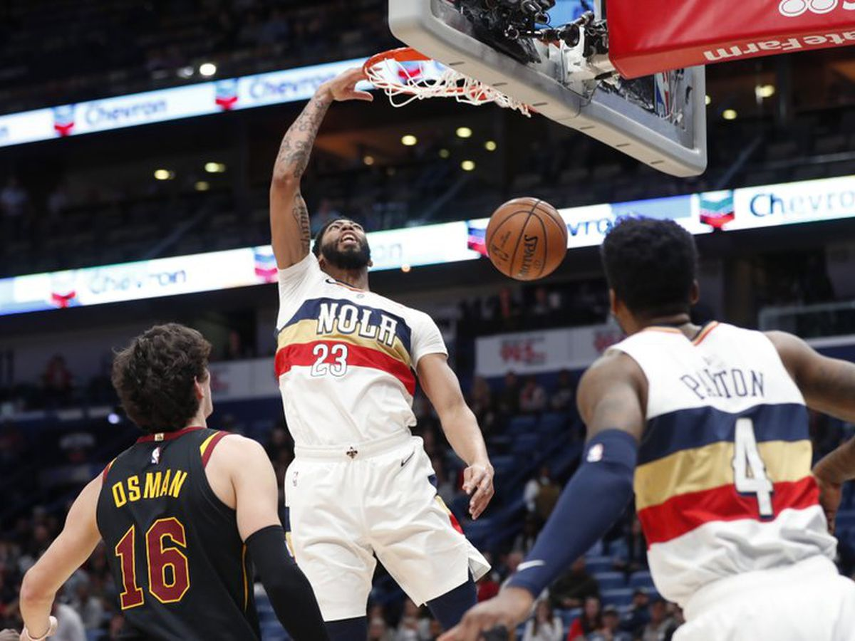 Cavs start hot but fall to Pelicans