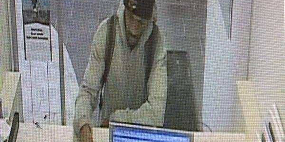 Parma police and FBI looking for bank robbery suspect