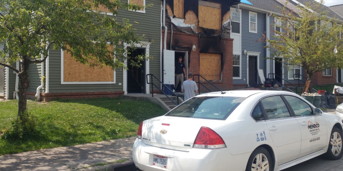 Three fires in three weeks in Cleveland, all near each other, has residents wondering