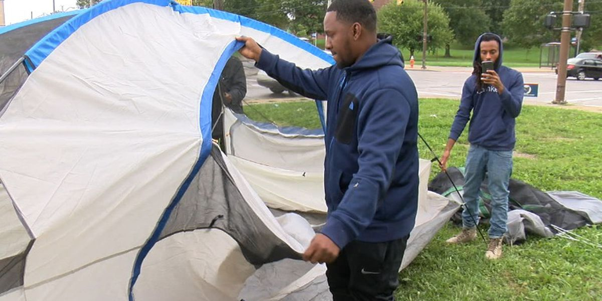 Cleveland councilman camping in ward to highlight need for crime solutions