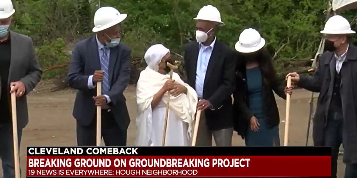 Ground broken on new affordable housing complex in Cleveland's Hough neighborhood