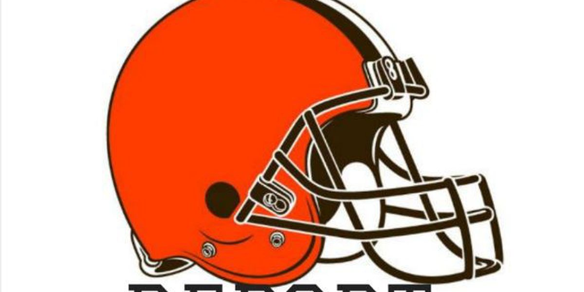Browns injury report for Monday